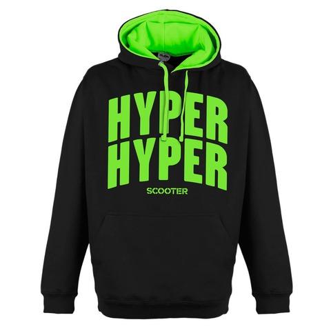 Hyper Hyper Typo von Scooter - Kapuzenpullover jetzt im Scooter Shop
