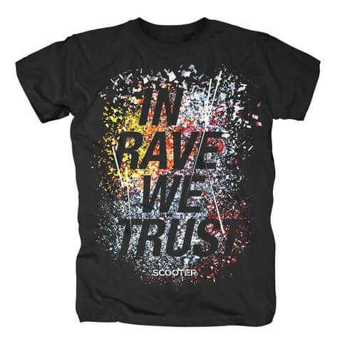 In Rave We Trust von Scooter - T-Shirt jetzt im Scooter Shop