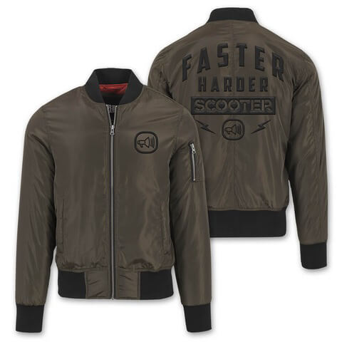 Faster Harder Scooter von Scooter - Bomber Jacke jetzt im Scooter Shop