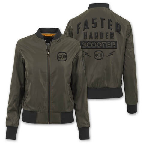 Faster Harder Scooter von Scooter - Girlie Bomber Jacke jetzt im Scooter Shop