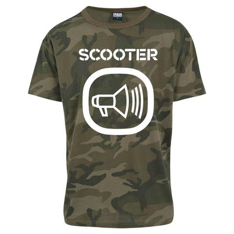 Camo Logo von Scooter - T-Shirt jetzt im Scooter Shop