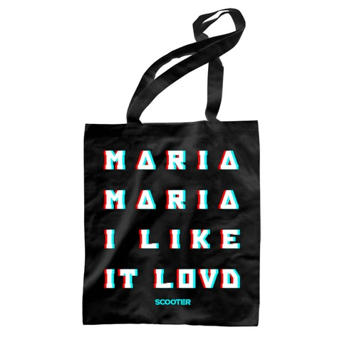 √Maria I Like It Loud von Scooter - Record Bag jetzt im Scooter Shop