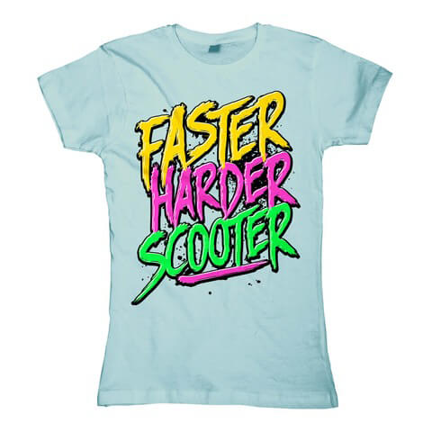 Faster Harder Scooter von Scooter - Girlie Shirt jetzt im Scooter Shop