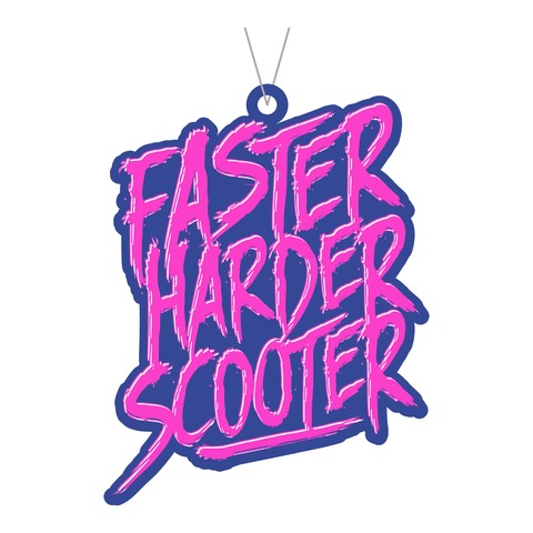 Faster Harder Scooter Energy von Scooter - Duftbaum jetzt im Scooter Shop