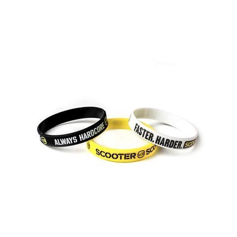√Scooter Bracelets von Scooter - 3er Set Silikonarmbänder jetzt im Scooter Shop