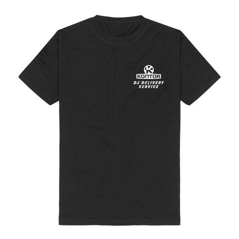√DJ Delivery Service von Kontor Records - T-Shirt jetzt im Scooter Shop