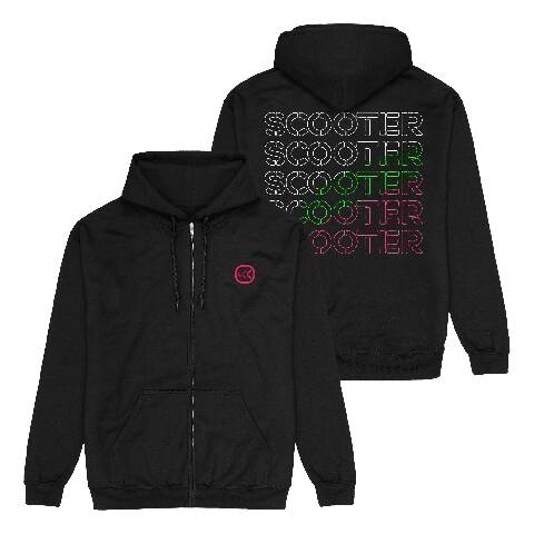√Logo Repeat von Scooter - Hooded jacket jetzt im Scooter Shop
