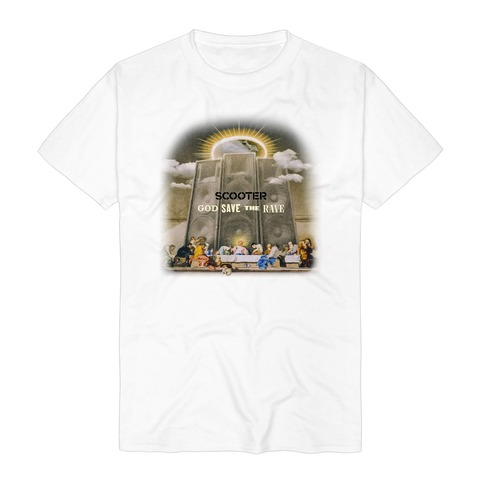 √God Save The Rave Faded Cover von Scooter - T-Shirt jetzt im Scooter Shop