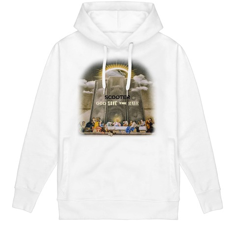 √God Save The Rave Faded Cover von Scooter - Hood sweater jetzt im Scooter Shop