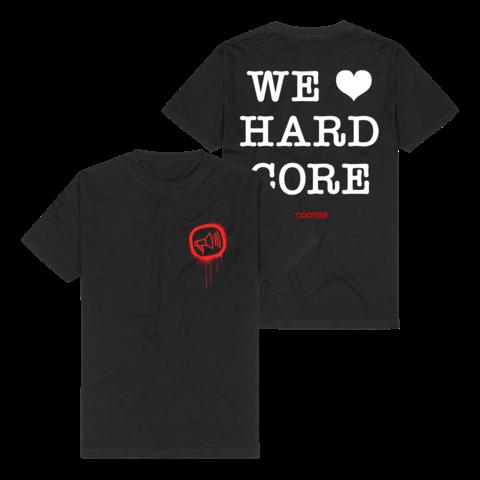 &radic;We <3 Hardcore von Scooter - T-Shirt jetzt im Scooter Shop